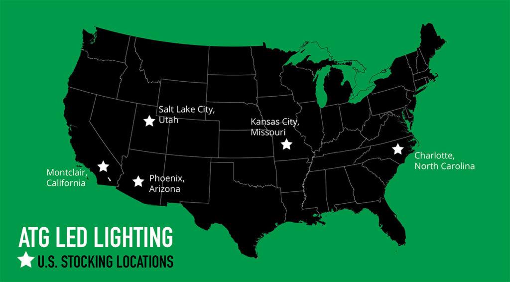 ATG Stocking Locations