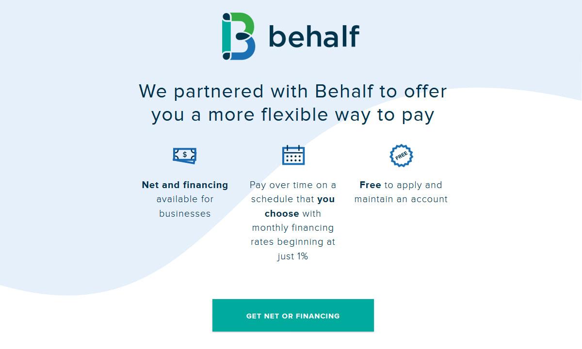 Atg Led Behalf Financing