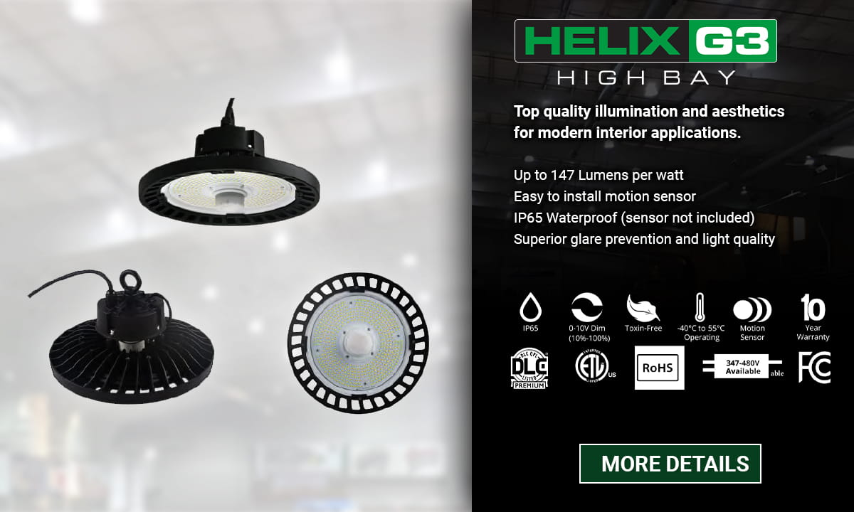 Atg Led Lighting High Bay Helix G3