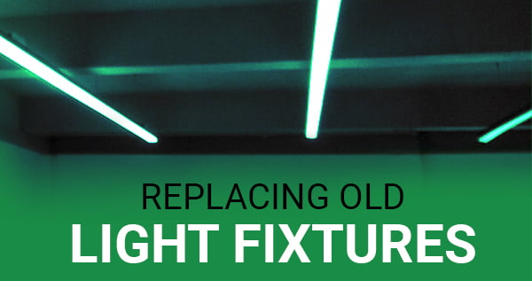LED light fixtures replacement made easy