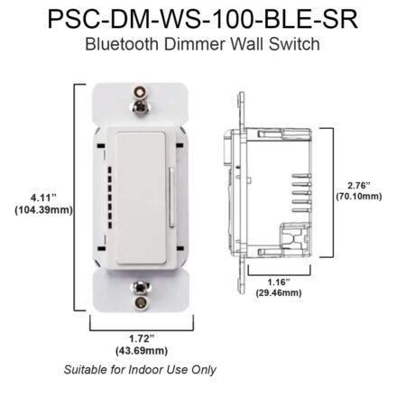 Bluetooth Dimmer Wall Switch