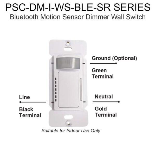 Bluetooth Motion Sensor Dimmer Wall Switch