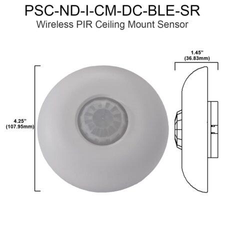 Wireless Pir Ceiling Mount Sensor