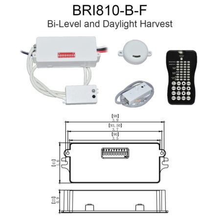Bri810 B F Bi Level And Daylight Harvest
