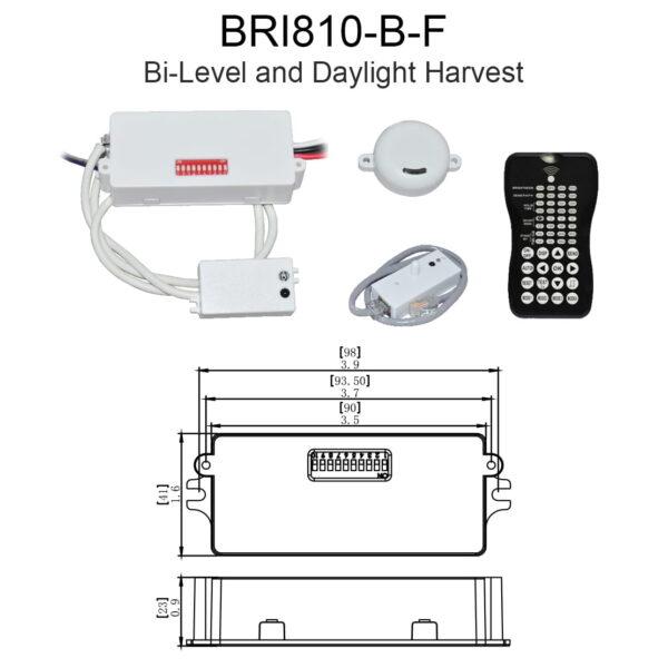 Bri810 B F Bi Level And Daylight Harvest