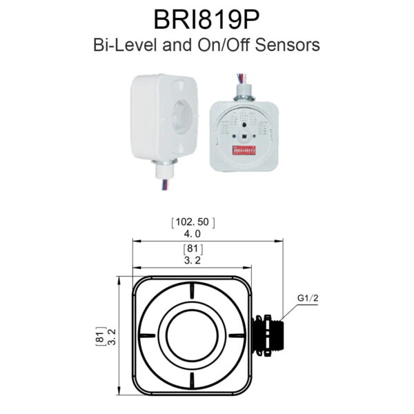 Bri819p Bi Level And On Off Sensors
