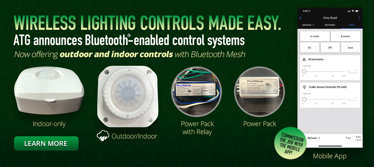 Bluetooth Mesh & Wireless Lighting Controls 1